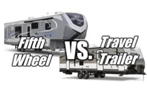 5th wheel vs travel trailer