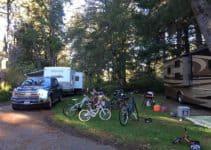 camping in oregon