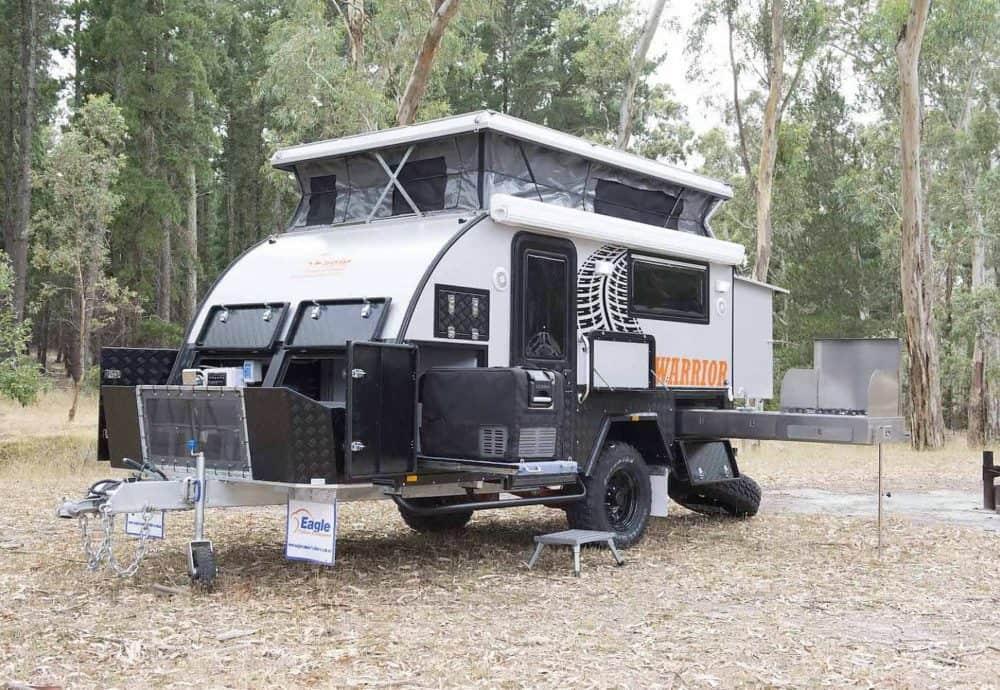 Water resistance of hybrid campers