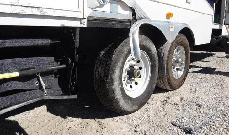 RV mistakes connected to tires