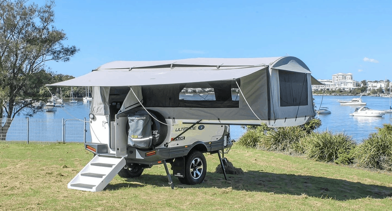 First time RV price when buying the camper trailer
