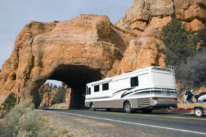 RV driving tips: practicing on vacant roads